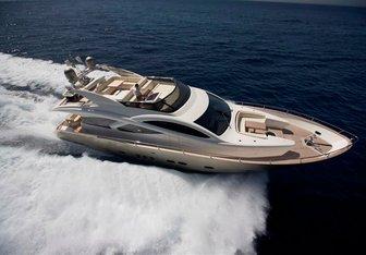 Blue Angel yacht charter Evo Yachts Motor Yacht