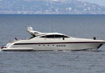 Little Zoe yacht charter Overmarine Motor Yacht