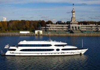 Balu yacht charter Custom Motor Yacht