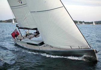 Silandra V yacht charter Nautor's Swan Sail Yacht
