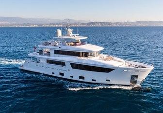 Narvalo charter yacht interior designed by Nauta Yachts