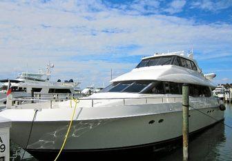 Andiamo Yacht Charter in Miami