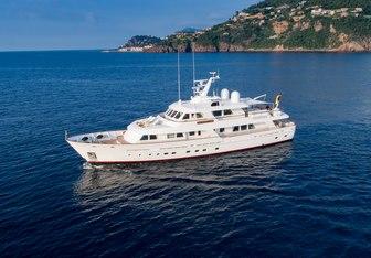Cornelia charter yacht exterior designed by De Vries Lentsch