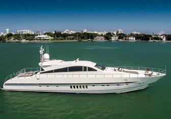 Ecj Luxe yacht charter Leopard Motor Yacht