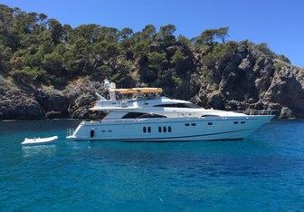 Nirvana yacht charter Fairline Motor Yacht
