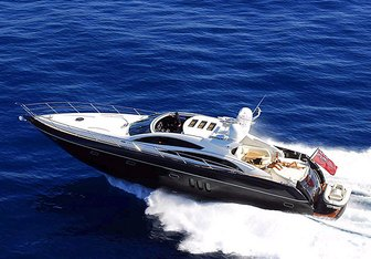 Splash yacht charter Sunseeker Motor Yacht
