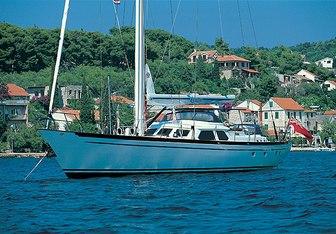 Wavelength yacht charter Pendennis Sail Yacht