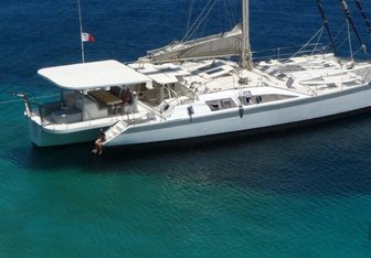 Conan yacht charter Custom Sail Yacht