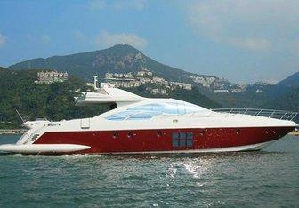 Scarlet yacht charter Azimut Motor Yacht