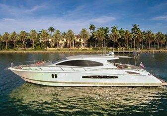 Carpe Diem yacht charter Lazzara Motor Yacht