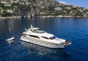 Ace1 yacht charter Falcon Motor Yacht