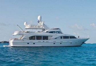 Keiki Kai yacht charter Benetti Motor Yacht