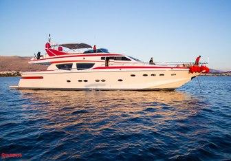Albator yacht charter Posillipo Motor Yacht