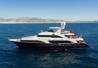 Option B yacht charter Benetti Motor Yacht