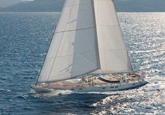 Victoria D yacht charter CNB Sail Yacht