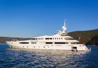 Queen Mare Yacht Charter in Milos