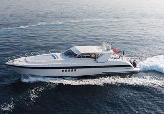 Erasmo yacht charter Overmarine Motor Yacht