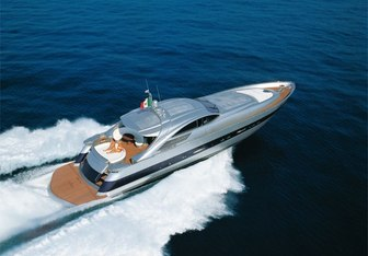 Cinque yacht charter Pershing Motor Yacht
