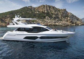 Maroma VI yacht charter Sunseeker Motor Yacht