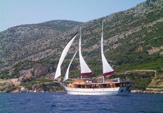 Cataleya Yacht Charter in Mljet