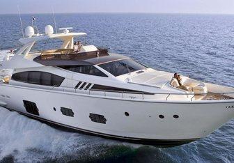JPS yacht charter Ferretti Yachts Motor Yacht