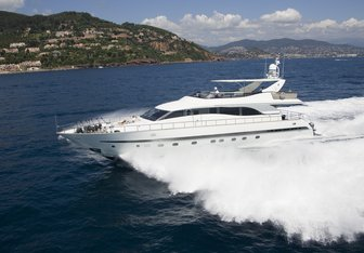 Coca VI yacht charter Leopard Motor Yacht