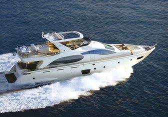Tropicana yacht charter Azimut Motor Yacht