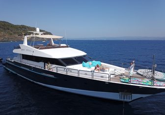 Spice of Life yacht charter Aegean Builders Motor Yacht