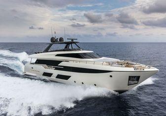 Piola yacht charter Ferretti Yachts Motor Yacht