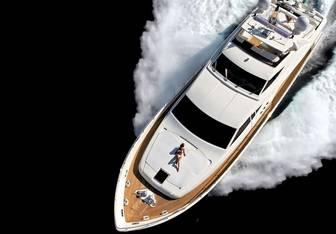 Baar yacht charter Ferretti Yachts Motor Yacht