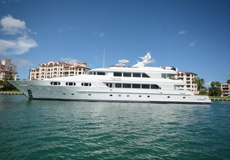 Themis yacht charter Trinity Yachts Motor Yacht