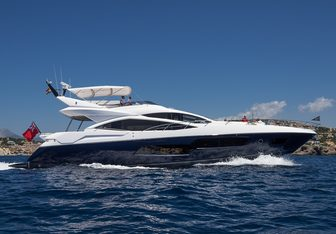 Seawater yacht charter Sunseeker Motor Yacht