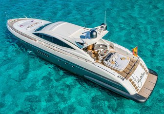 Five Stars yacht charter Overmarine Motor Yacht