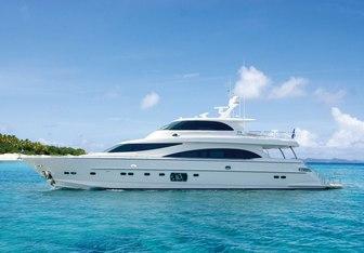 Diamond Seas yacht charter Horizon Motor Yacht