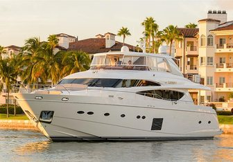 Love N Life yacht charter Princess Motor Yacht