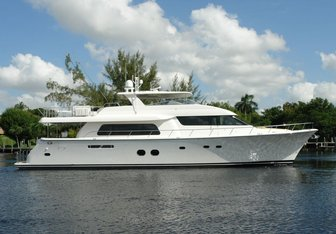 Seas the Moment yacht charter Pacific Mariner Motor Yacht