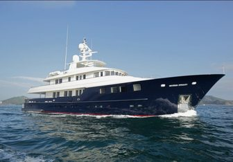 Ocean's Seven charter yacht interior designed by Vripack & Kingship