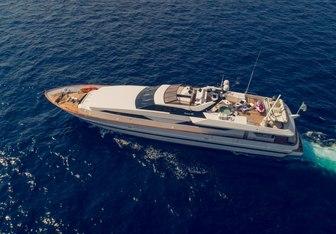Andrea yacht charter Baglietto Motor Yacht