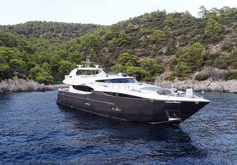 Sanjana yacht charter Notika Teknik Motor Yacht