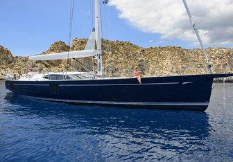 Reina yacht charter Oyster Yachts Sail Yacht
