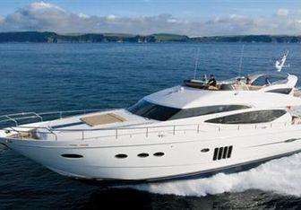 Sabbatical III yacht charter Princess Motor Yacht