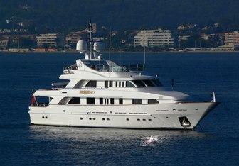 Desamis B yacht charter Benetti Motor Yacht