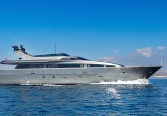Summer Fun charter yacht exterior designed by Admiral Yachts