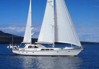 Pacific Eagle yacht charter Alloy Yachts Sail Yacht