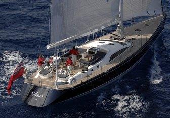 Nikata yacht charter Nautor's Swan Sail Yacht