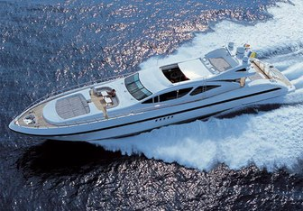 African Cat yacht charter Overmarine Motor Yacht