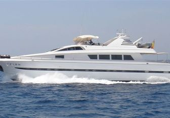 Lady Alhena of London yacht charter  Motor Yacht