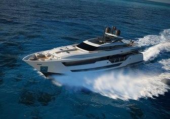 Vista Blue yacht charter Custom Line Motor Yacht