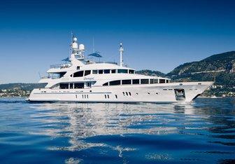 Domani yacht charter Benetti Motor Yacht