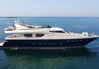 Aetos E yacht charter Posillipo Motor Yacht